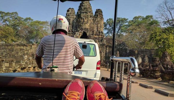 Quels sont les moyens de transport utilisés au Cambodge ?